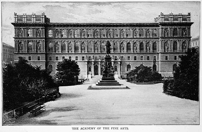 Adolf Hitler undertakes the entrance examination of the Academy Of Fine Arts in Vienna. Hitler is among the 33 of 112 students who passed the first round