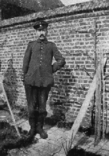 Adolf Hitler in Fournes-en-Weppes, France, during WWI