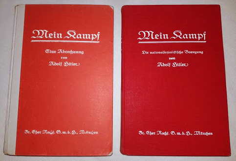 The first volume of Adolf Hitler's book Mein Kampf was published on 18 July 1925