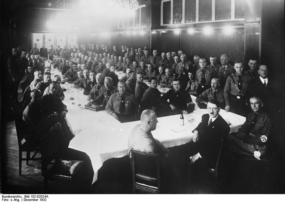Reich Leaders' Conference of the NSDAP in the main office in Schellingstrasse, Munich
