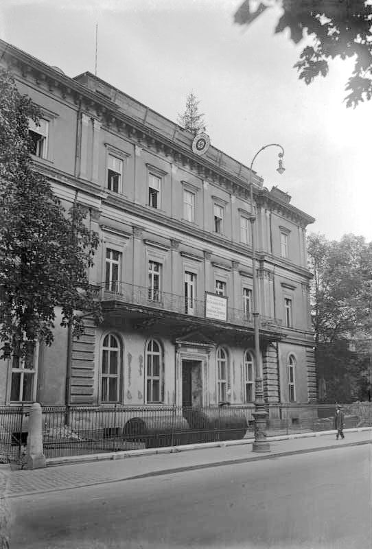 The Brown House (Braunes Haus) opens and becomes the official Headquarters of the NSDAP at Brienner Straße 34 in Munich