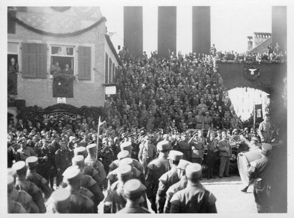 Adolf Hitler in Kelheim