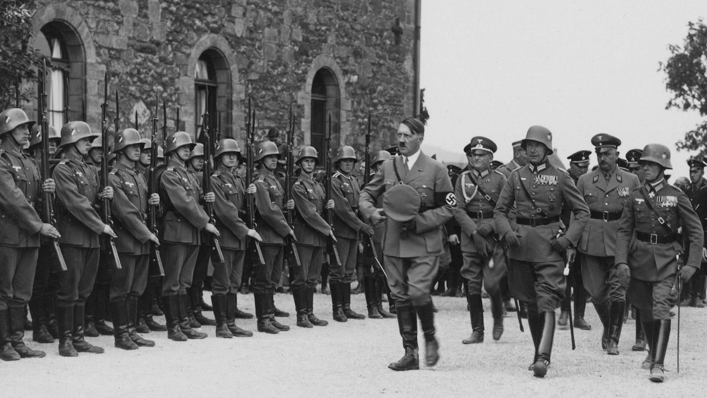 Adolf Hitler in Goslar for the Erntedanktag