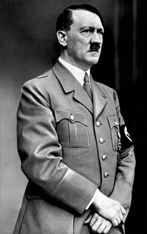 Portrait of Adolf Hitler on his 48th birthday