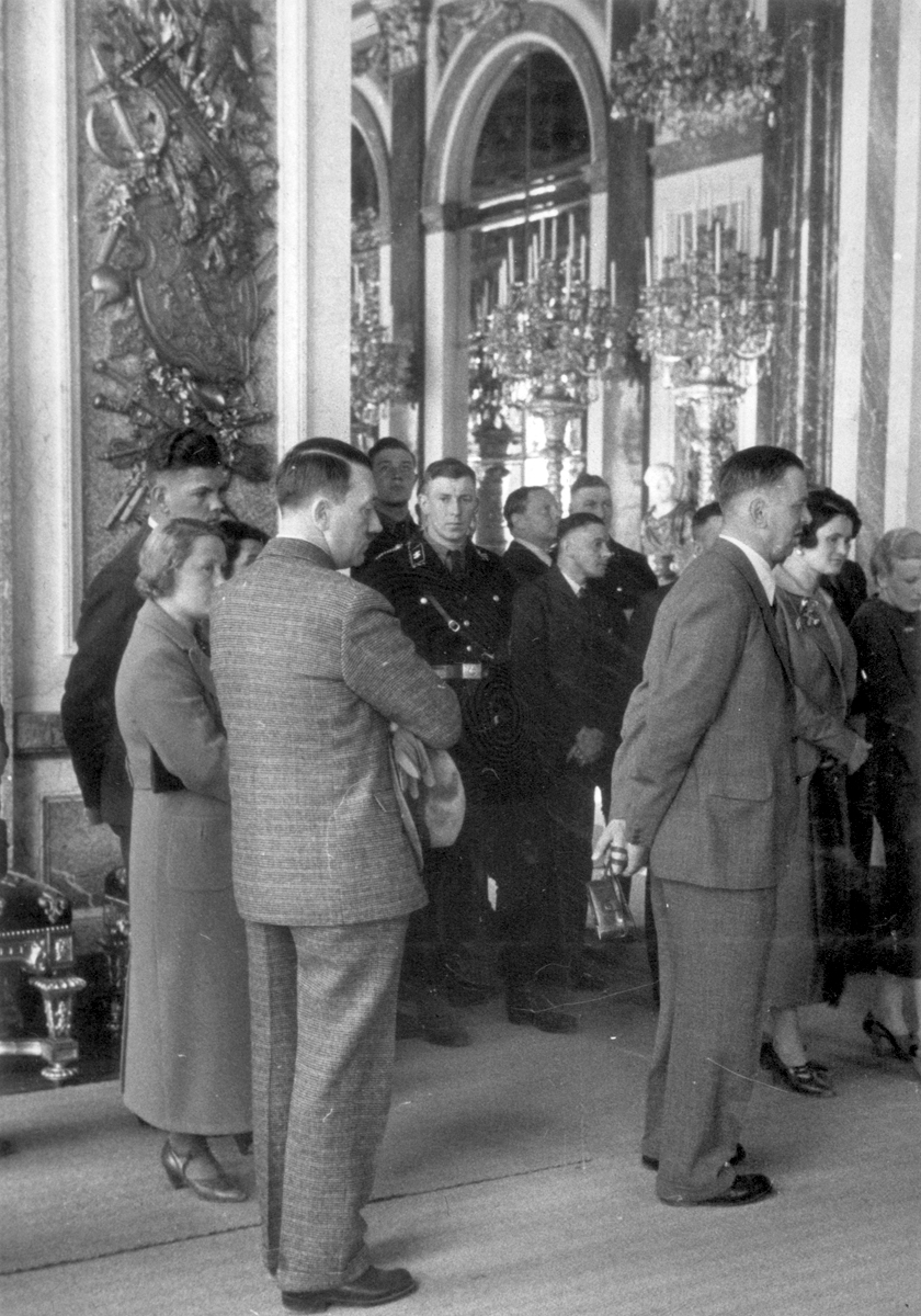 Adolf Hitler visits Schloss Herrenchiemsee, from Eva Braun's albums