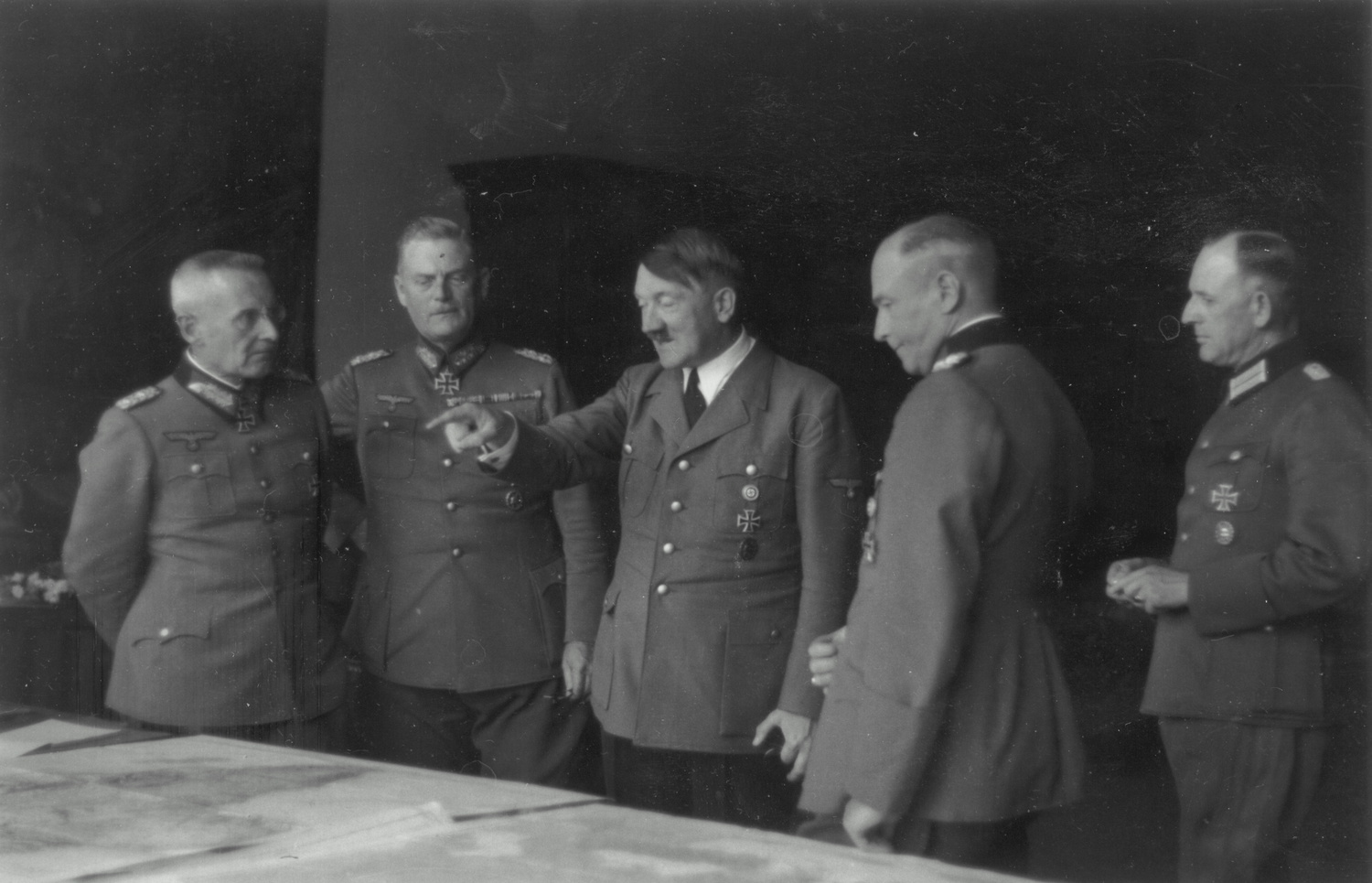 Planning conference at the Berghof